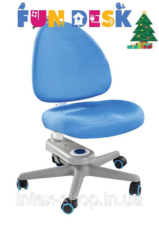 Комп'ютерне крісло FunDesk SST10 Blue