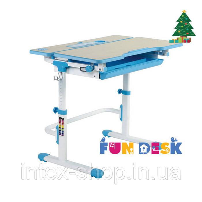 Растущая парта для дома FunDesk Lavoro L Blue