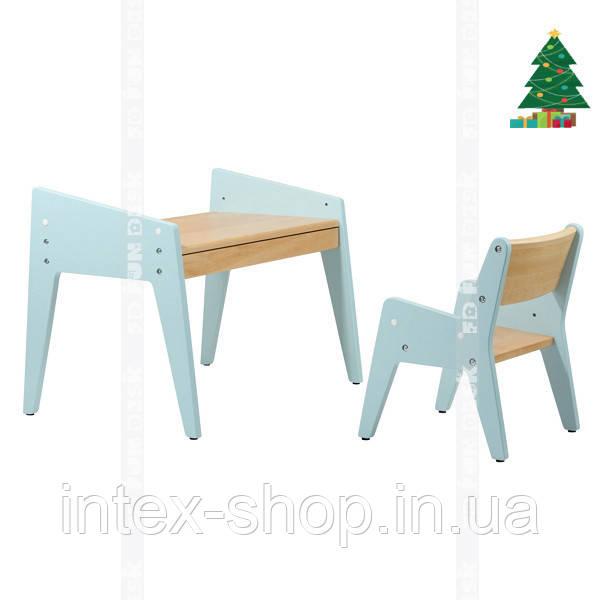 Дитячий стіл і стілець FUNDESK OMINO