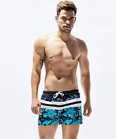 Мужские короткие купальные шорты Seobean - №2592