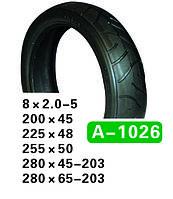 Шина коляски 280x65-203 A-1026 Hota 203-56