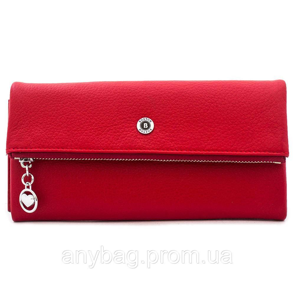 9776ae039452 Кошелек женский кожаный Boston W-BST11722 красный - интернет-магазин anyBag  в Киеве