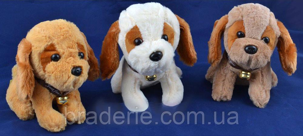 Мягкая игрушка собачка 2102