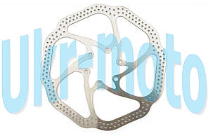 Диск тормозной   велосипедный   (mod:1, Ø160mm, на 6 болтов)   FEIX