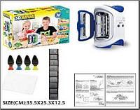 Набор ручка 3D LM111-1 печка для запекания,  формочки,  4 цвета ручек,  в коробке 35, 5*25, 3*12, 5