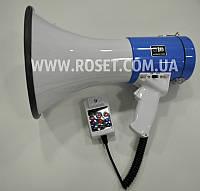Рупор-мегафон - Power Megaphone SD-10SHB USB 50W (с аккумулятором)