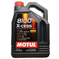 Моторное масло Motul 8100 X-cess 5W-40 5 л (368206 / 102870)