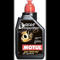 Масло трансмиссионное Motul Gear Competition 75W-140 1л 823501