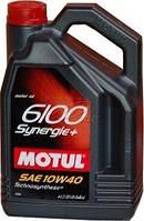 Моторное масло Motul 6100 Synergie+ 10W-40 4 л (839441 / 101491)