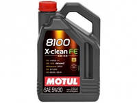 Моторное масло Motul 8100 X-clean FE 5W-30 4 л (814107 / 104776)