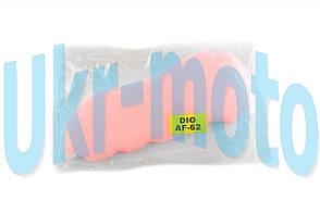 Элемент воздушного фильтра   Honda DIO AF62/TODAY AF61   (поролон с пропиткой)   (красный)