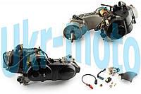 """Двигатель   4T GY6 80cc   (139QMB, короткий)   (10"""" колесо, карбюратор, коммутатор, катушка зажигания)   """"SL"""""""