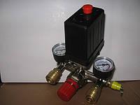 Пресостат на компрессор в сборе 220В (автоматика/реле давления)