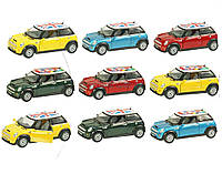 Машина металлическая KINSMART KT5059WF Mini Cooper S  в коробке 16*8*7см