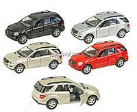 Машина металлическая KINSMART KT5309W (96шт/4) Mercedes-Benz ML-Class, в коробке 16*8*7,5см