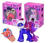"""Пони """"My Little Pony Power Ponies"""" 88278/80/82 (72шт/2) 3 вида, свет,  звук,  в коробке 19, 5*9*24, 5 см."""