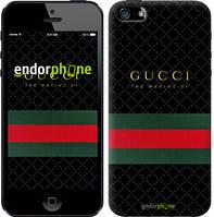 """Чехол на iPhone 5 Gucci 1 """"451c-18-532"""""""