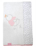 Одеяло-пеленка байка двойное Утенок Bebetto