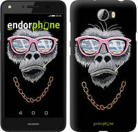 "Чехол на Huawei Y7 2017 Крутая обезьяна ""4128u-1019-493"""