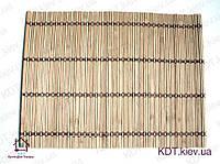 Коврик бамбуковые 40см×60см