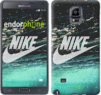 "Чехол на Samsung Galaxy Note 4 N910H Water Nike ""2720c-64-532"""