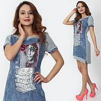 Женское платье джинсовое(Турция)