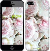 "Чехол на iPhone 5s Пионы v2 ""2706c-21-532"""