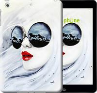 "Чехол на iPad 5 (Air) Девушка акварелью ""2829c-26-532"""