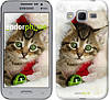 "Чехол на Samsung Galaxy Core Prime G360H Новогодний котёнок в шапке ""494c-76-532"""