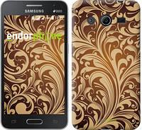 """Чехол на Samsung Galaxy Core 2 G355 Растительный узор """"2260c-75-532"""""""