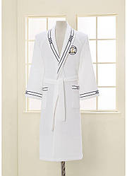 Белый махровый халат Soft Cotton Marine S 44-46