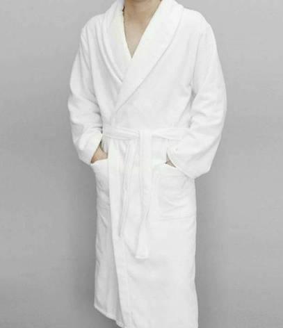 Белый халат Philippus Hotel Classic  для гостиницы XL (50-52), фото 2