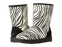 Угги женские оригинальные UGG Classic Short Exotic Zebra 1