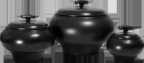 Чавунна каструля чавунець пічної V 4 л з кришкою ЕМ
