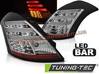Задние фонари на Suzuki Swift 2010 черные