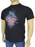 Турецкая мужская футболка Бос 0490 большого размера