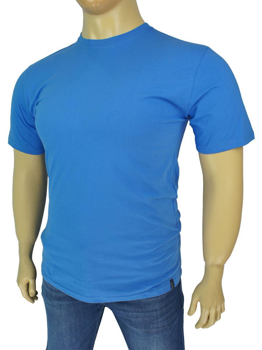 Польская мужская футболка Imako M:ALEKSANDER в голубом цвете
