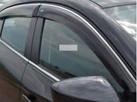 "Ветровик накладной Chevrolet Lacetti Sd 2003 ХРОМ.МОЛДИНГ деф.окон ""Cobra Tuning"""