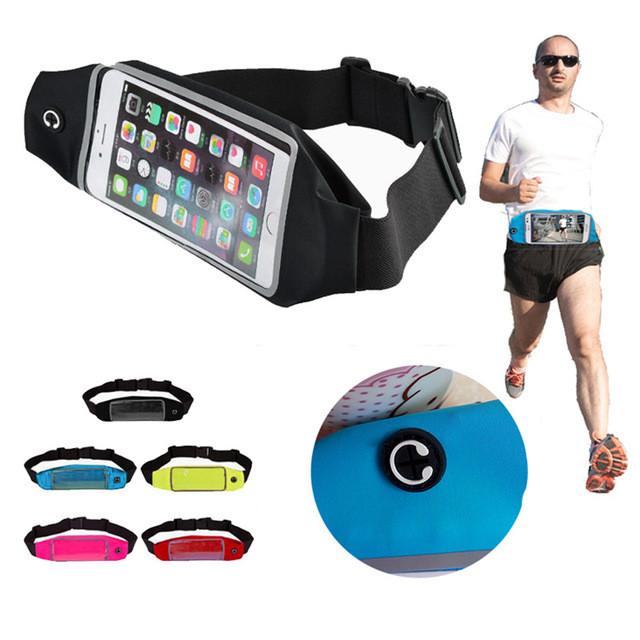 Сумки на пояс для смартфонов Fitness Belt