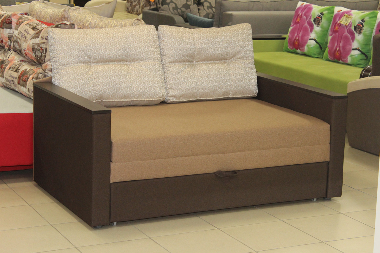 Розкладний диван з нішею для білизни
