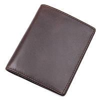 Кожаный мужской кошелек портмоне  S.J.D. R-8172-2Q