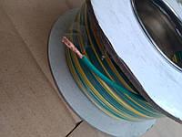 Провод монтажный ПВ3 0,75кв.мм. (CCA),длина 100м,цвет жёлто-зелёный