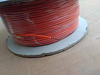 Провод монтажный ПВ3 0,35кв.мм. (CCA),длина 100м,цвет оранжевый