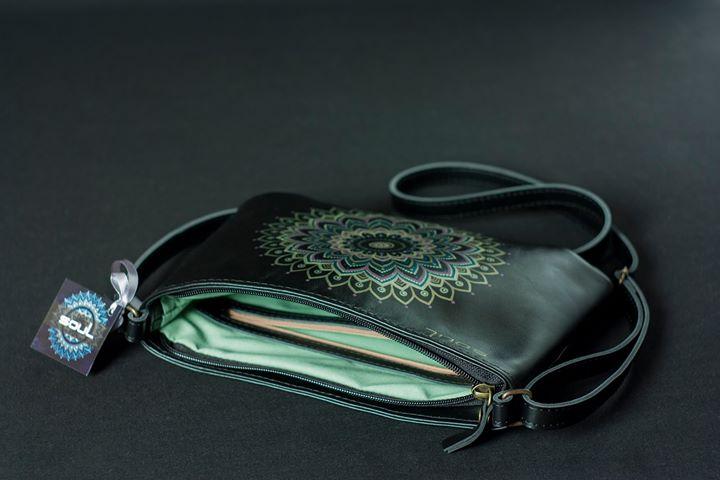 Кожаная сумка женская и кошелек
