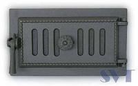 Чугунный люк для золы 433 SVT, 180х320 мм (герметичный)