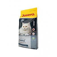 Сухой корм 10 кг с уткой и картофелем для длинношерстных кошек Йозера / Catelux Josera