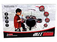 Ударная установка (5 барабанов) - для развития чувства ритма, слуха и мелкой моторики