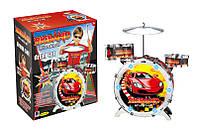 Барабанная установка из трёх барабанов - обязательно понравится Вашему ребенку