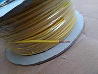 Провод монтажный ПВ3 0,35кв.мм. (CCA),длина 100м,цвет жёлтый