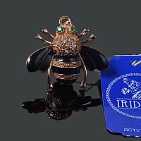 Серебряная подвеска с позолотой Пчелка, фото 1